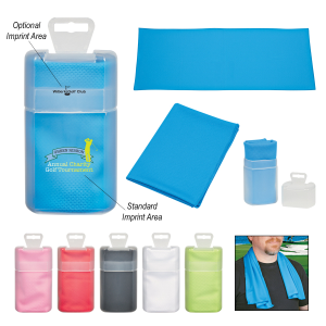 Cooling Towel In Plastic Case