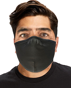 US Blanks Anti-microbial Double Layer Cotton/Lycra Adjustable Mask (12 Pack)