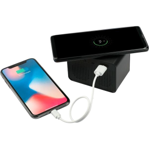 LightUp Logo Speaker With Wireless Charging Powerbank